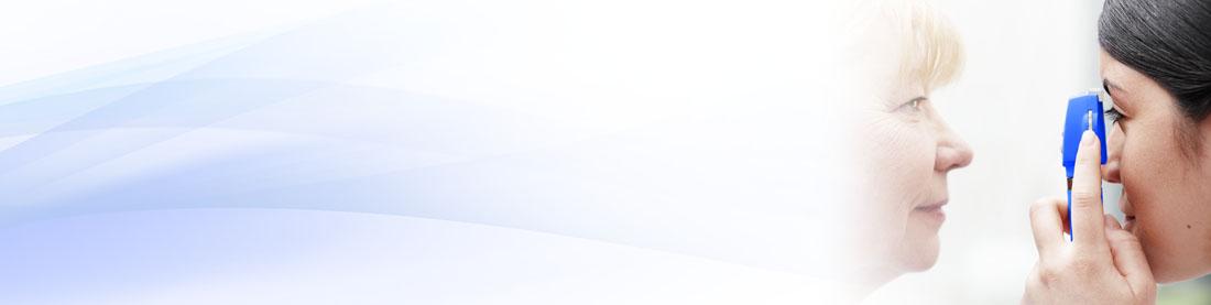 Pocket LED-Ophthalmoskop