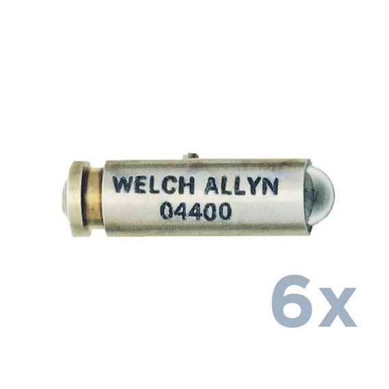 2,5V Halogenlampe für Ophthalmoskope (6 Stück)