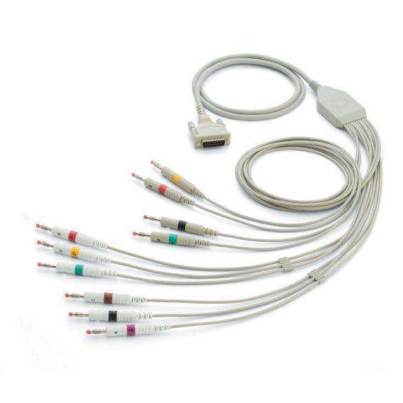 IEC-Patientenkabel (1,5 m) mit 10 Ableitungen