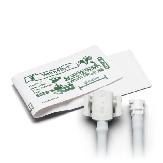 FlexiPort® Soft-Manschette, Größe 9, 1-Schlauch, Rast (20 Stück)