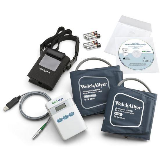 ABPM 7100 mit Zentraler Blutdruckmessung und HMS Software
